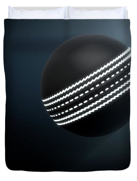 Futuristic Neon Sports Ball Duvet Cover
