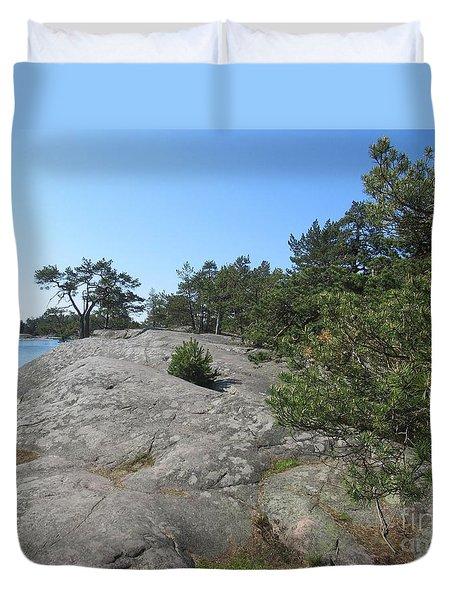In Stendorren Nature Reserve Duvet Cover