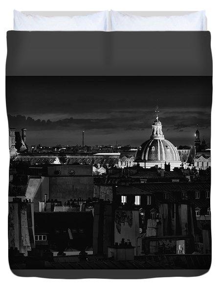 Paris Duvet Cover by Hayato Matsumoto