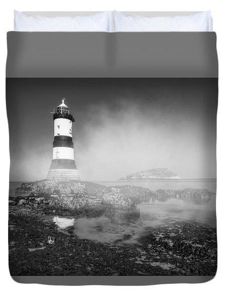 Penmon Lighthouse Duvet Cover