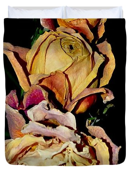 Roses Duvet Cover by Sylvie Leandre