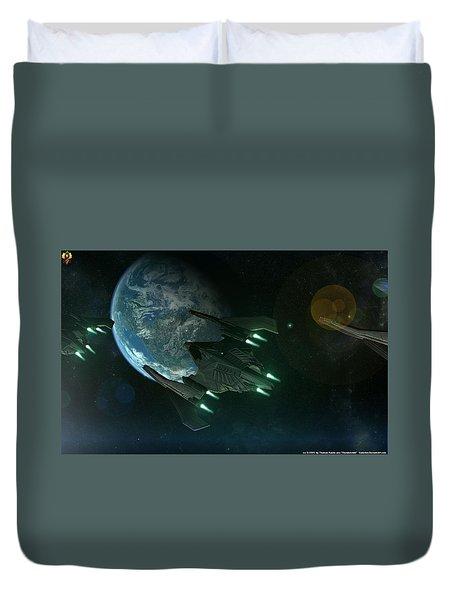 Sci Fi Duvet Cover