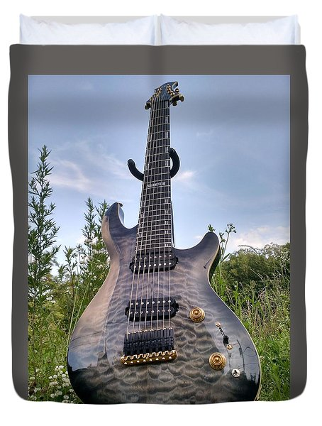 8 String Esp Ltd Jr608 Duvet Cover