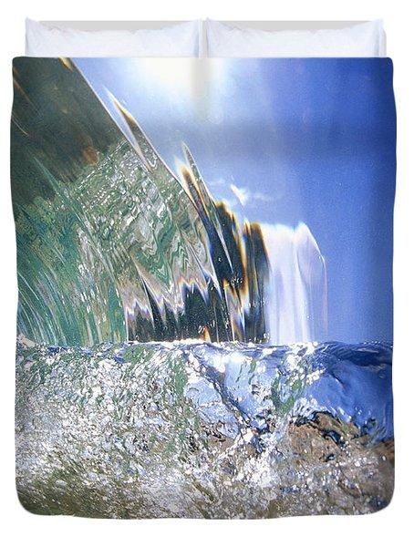 Underwater Wave Duvet Cover by Vince Cavataio - Printscapes