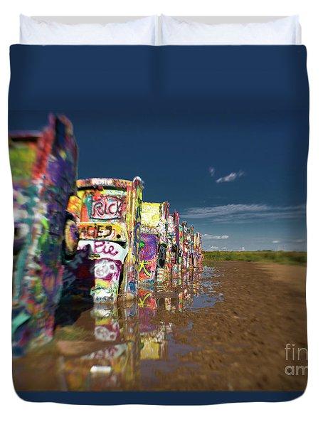 Texas 66 Duvet Cover