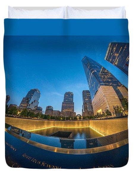9/11 Memorial Duvet Cover