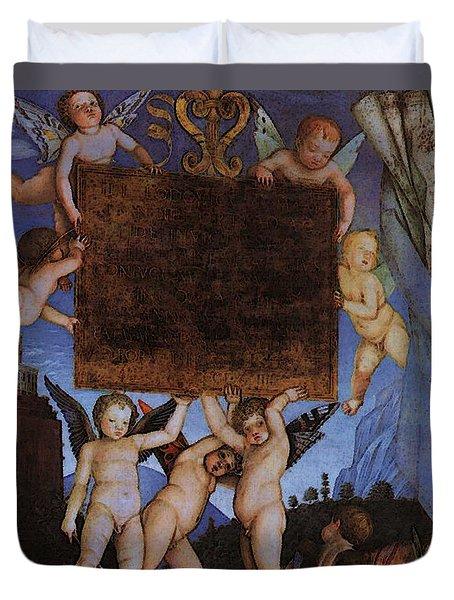 Andrea Mantegna Duvet Cover