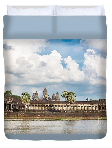 Angkor Wat In Cambodia Duvet Cover