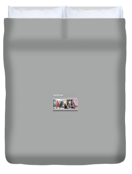 Art Book Duvet Cover