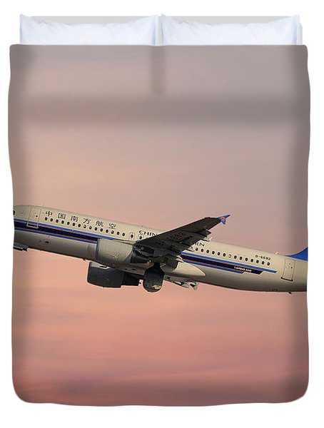 China Southern Airlines Airbus A320-214 Duvet Cover