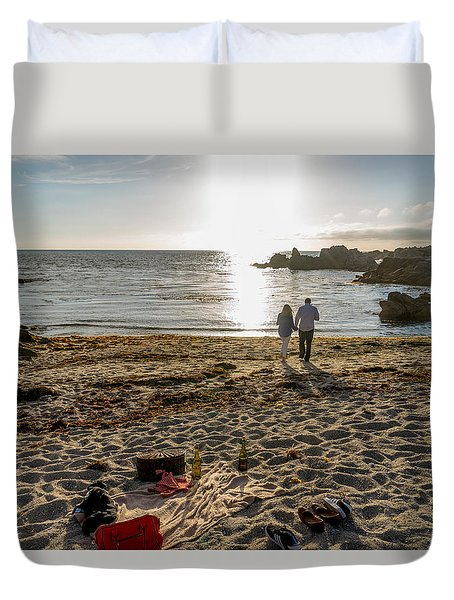 9 Duvet Cover by Derek Dean