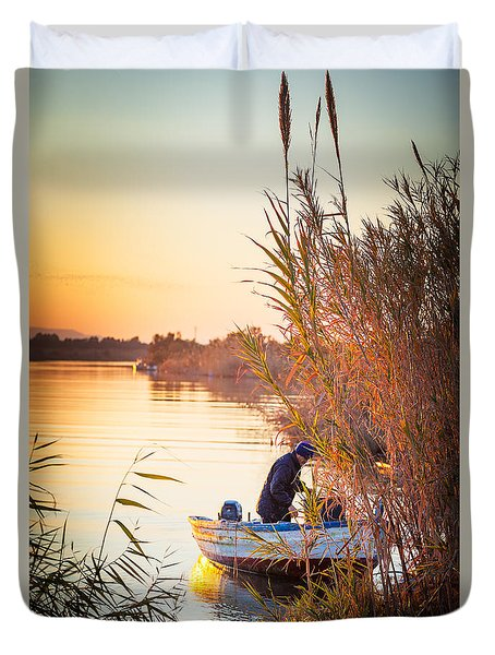 Fisherman's Virtues Duvet Cover