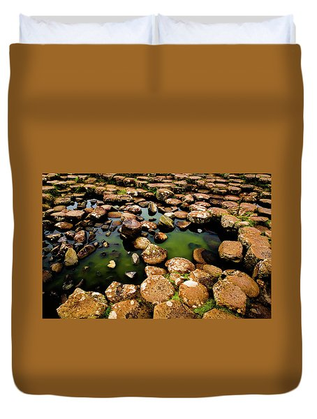 Giant's Causeway Duvet Cover