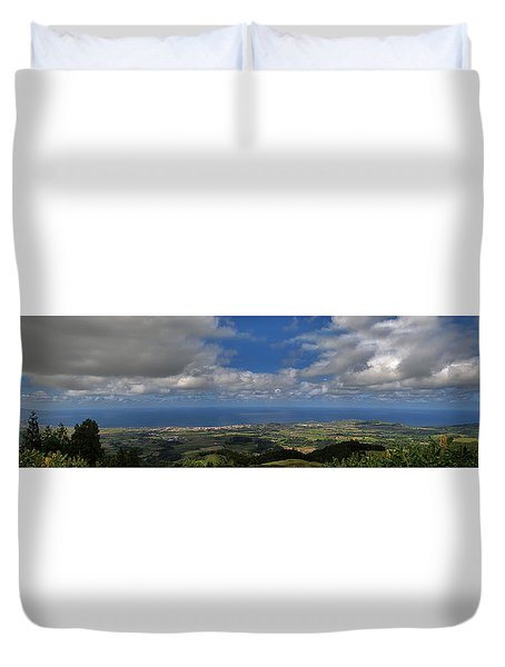 Landscapespanoramas Duvet Cover