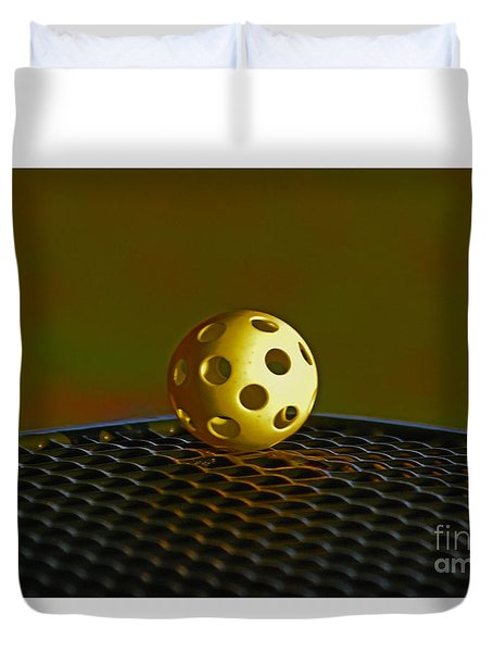 Duvet Cover featuring the photograph 9- Perspective by Joseph Keane