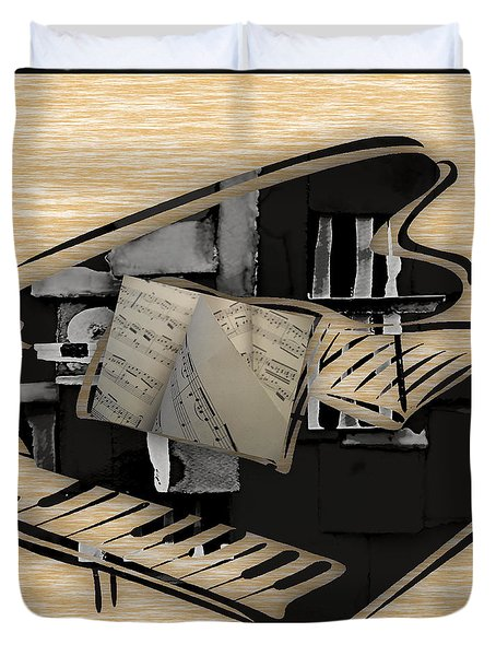 Piano Collection Duvet Cover