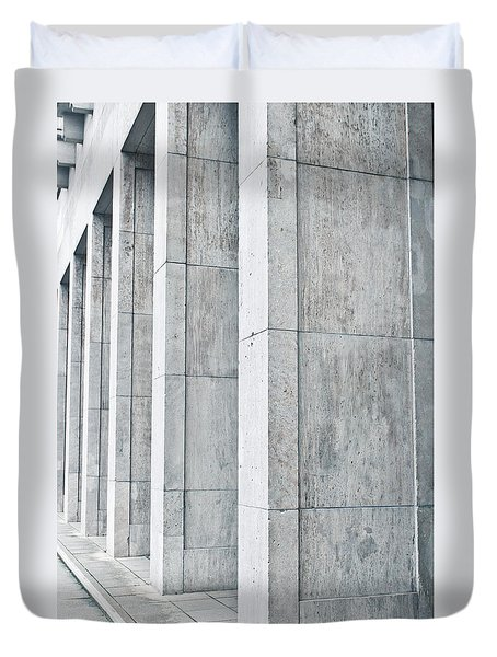 Pillars Duvet Cover