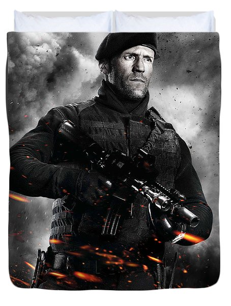 The Expendables 2 2012  Duvet Cover