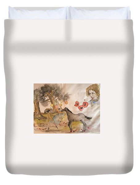 Trees Trees Trees And More Album  Duvet Cover