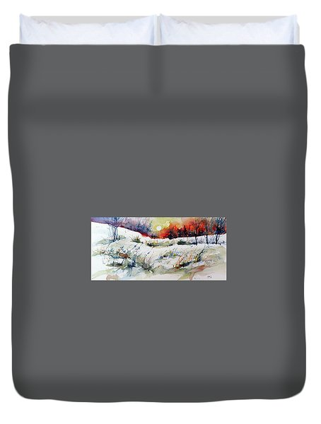 Winter Duvet Cover