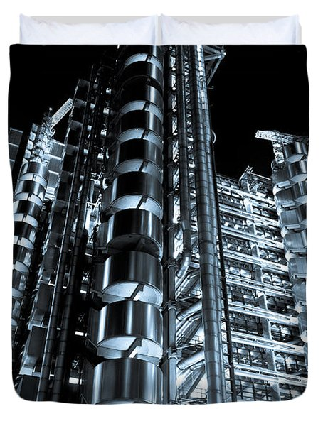 Lloyd's Building London Duvet Cover