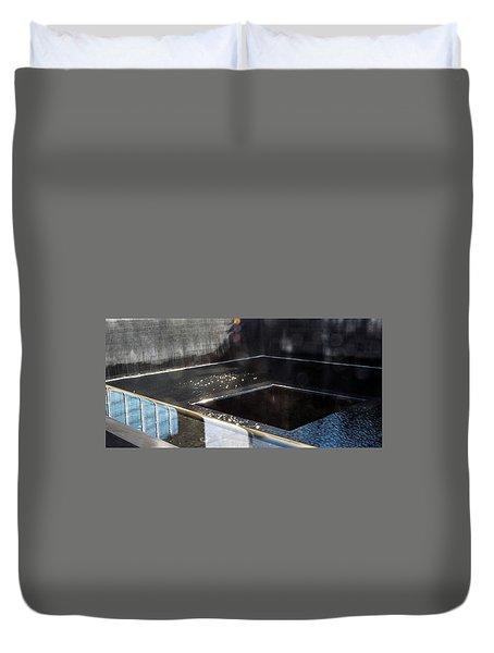 911 Memorial Pool 2016-1 Duvet Cover