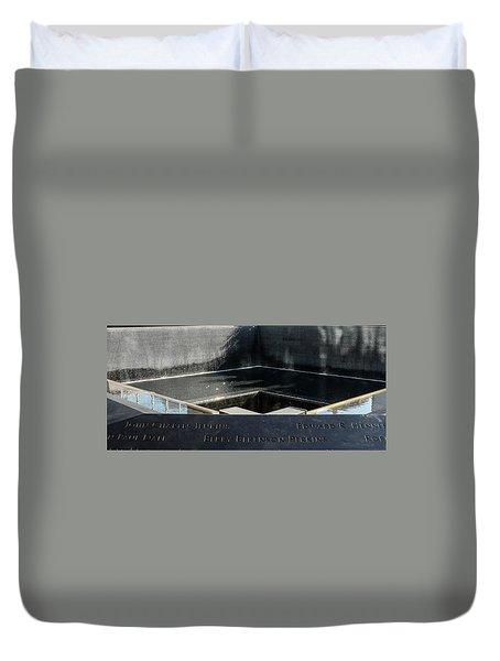 911 Memorial Pool-8 Duvet Cover