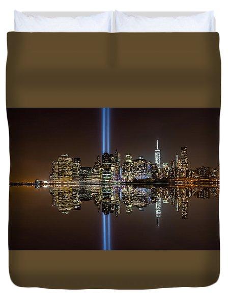 911 Reflection Duvet Cover