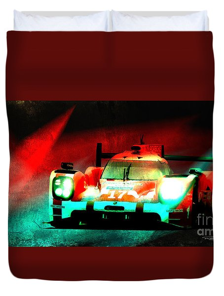 919 Lemans Duvet Cover