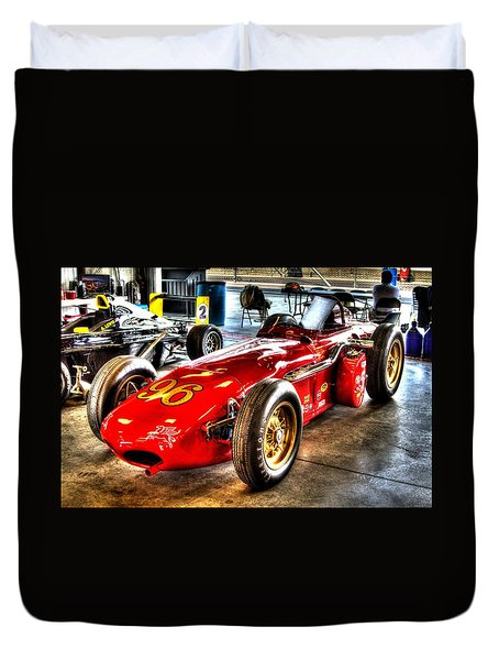 1961 Elder Indy Racing Special Duvet Cover by Josh Williams