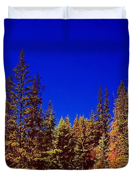 Beyond The Big Green Forest Duvet Cover