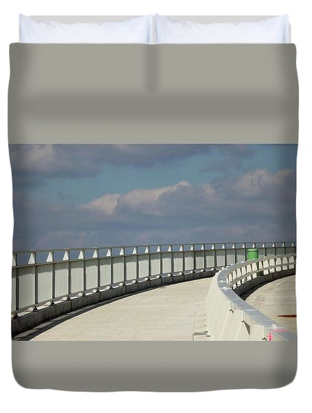 9th Street Out Duvet Cover by John Wartman