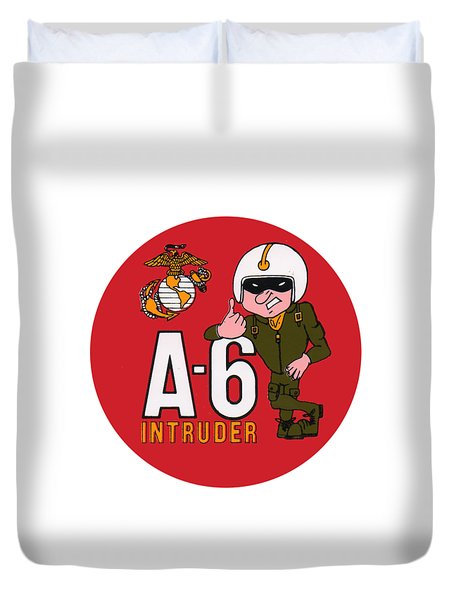A-6 Intruder Duvet Cover