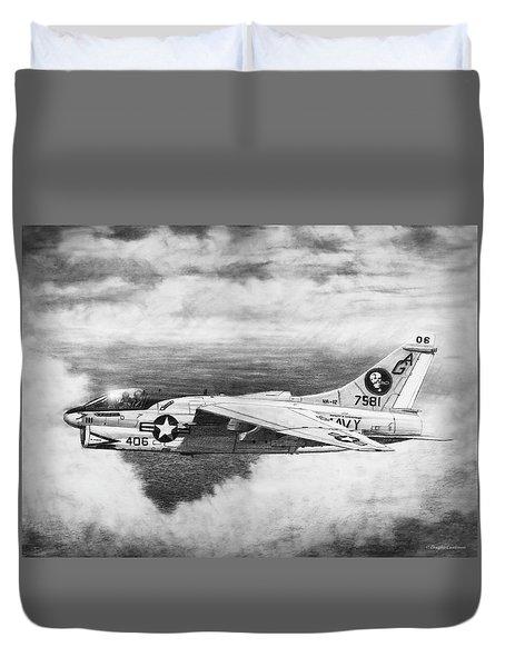 A-7e Corsair II Duvet Cover