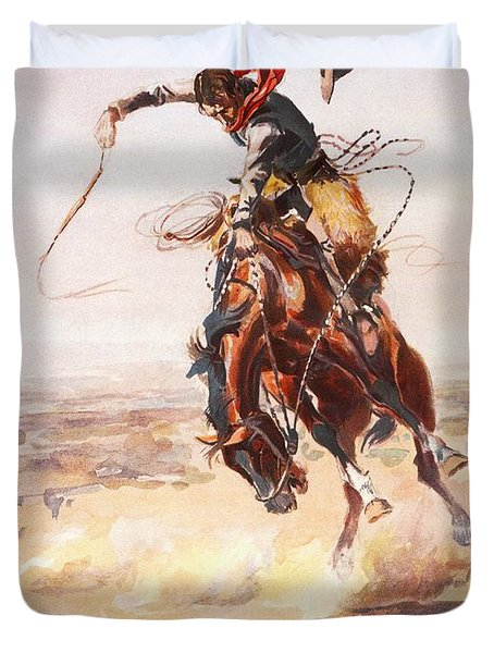 A Bad Hoss Duvet Cover