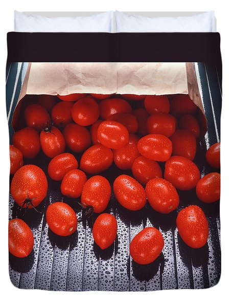 A Bag Of Tomatoes Duvet Cover