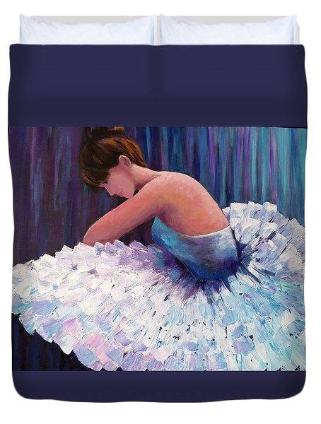 A Ballerina In Repose Duvet Cover