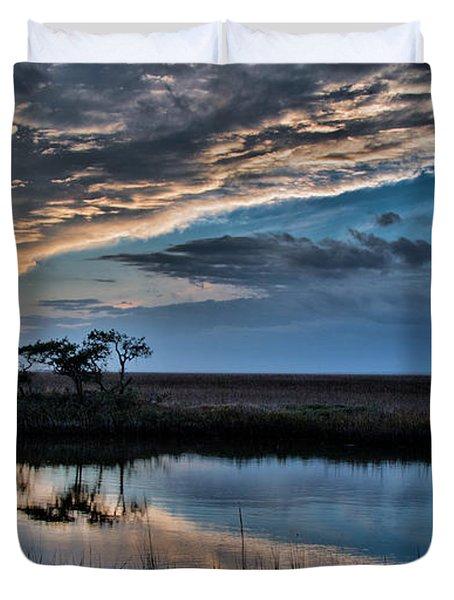 A Beautiful Evening Duvet Cover