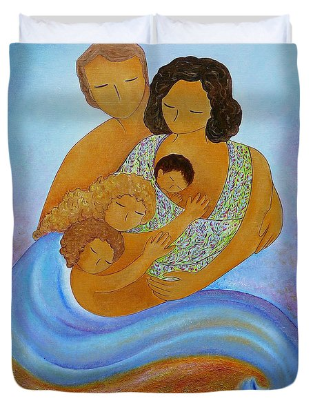 A Beautiful Family Duvet Cover