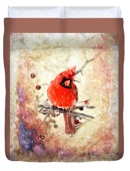 Duvet Cover featuring the photograph A Beautiful Thing by Betty LaRue