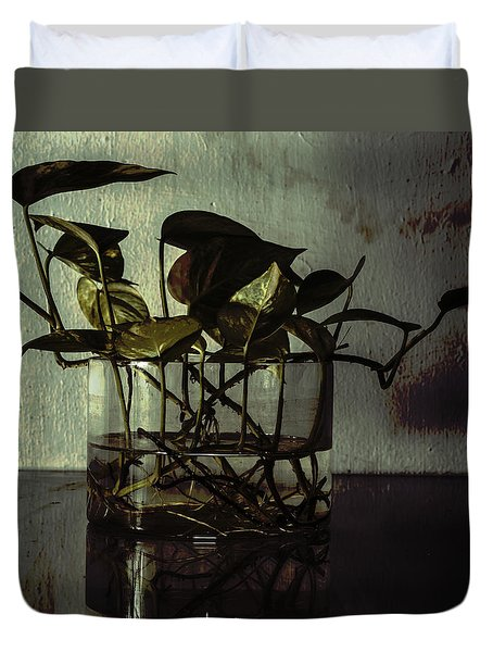 A Bit Of Grunge Duvet Cover by Rajiv Chopra