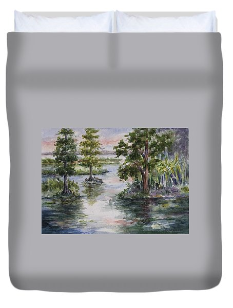 A Bit Of Heaven - Florida Duvet Cover