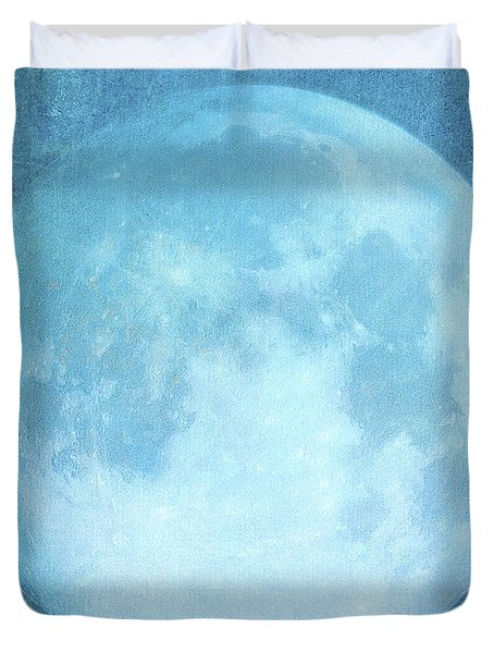 A Blaze In The Northern Sky Duvet Cover