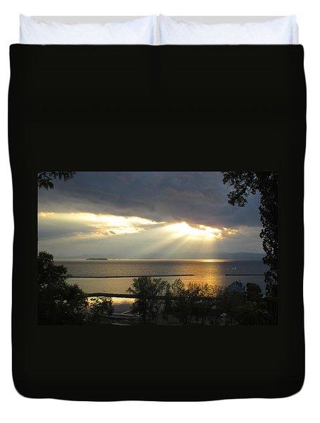 A Blessing Of Light Duvet Cover