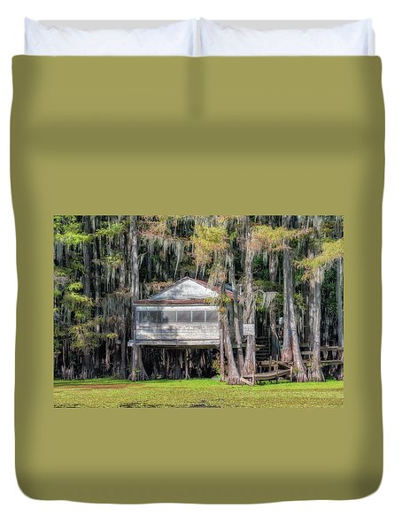 A Boggy Tea Room Duvet Cover