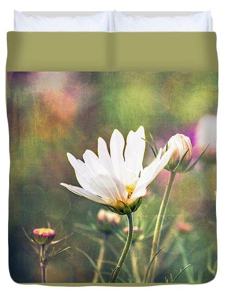 A Bouquet Of Flowers Duvet Cover