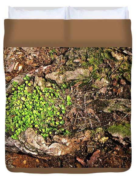 A Bowl Of Greens Duvet Cover