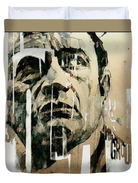 A Boy Named Sue Duvet Cover by Paul Lovering