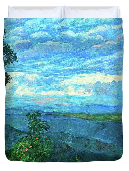 A Break In The Clouds Duvet Cover