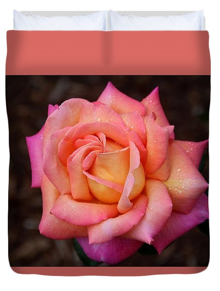 Duvet Cover featuring the photograph A Breath From Sarasota by Michiale Schneider